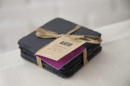 slate tableware, coasters, slate coasters, Slated Ireland, Slated, gift, wedding gift, personalised gift