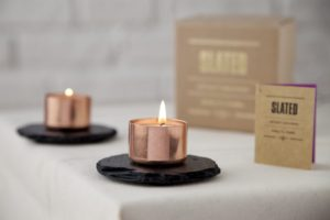 copperand slate, copper candle, candle holder, unique gift, copper homewares, gift, interiors, housewarming, wedding gift, wedding