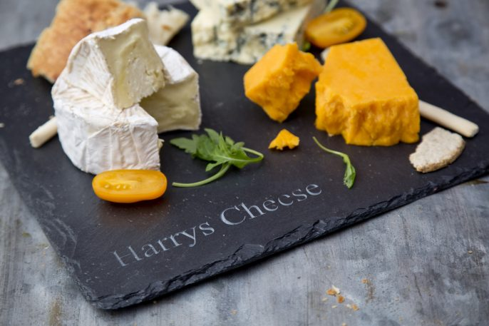 personalised cheese board, slate cheese board, slated.ie